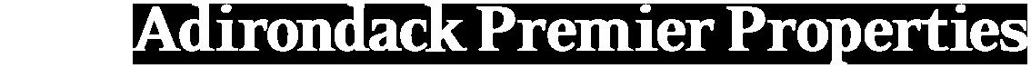 Adirondack Premier Properties