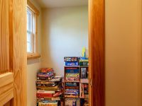 Closet With Board Games