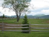 Vacant Land With Fencing & Mountain Views