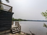 Boathouse With View Of Upper Saranac Lake