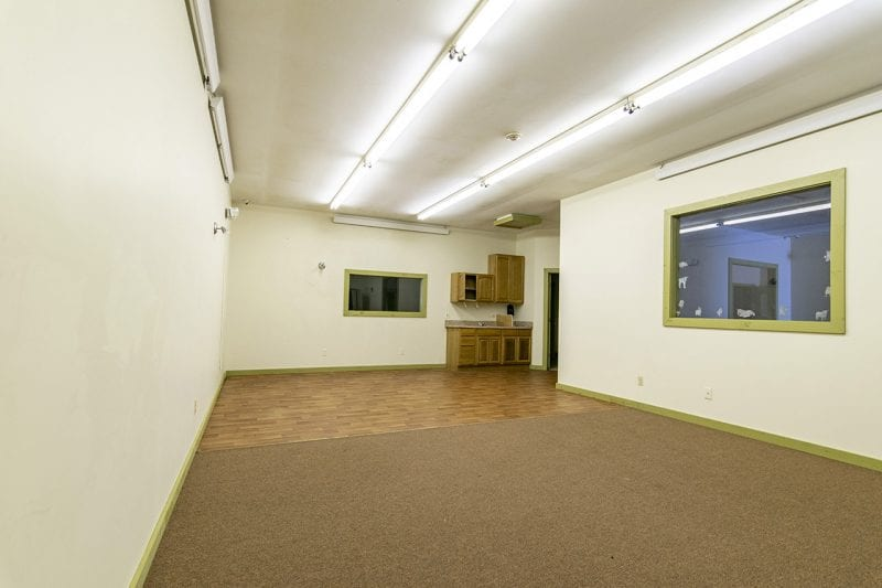 Empty Room Inside Of Commercial Building