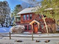 Exterior Of Adirondack Style Cottage