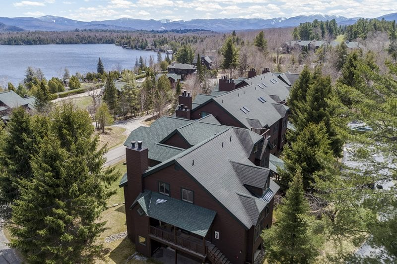 Aerial Of Brookhill Units With Lake Placid Behind