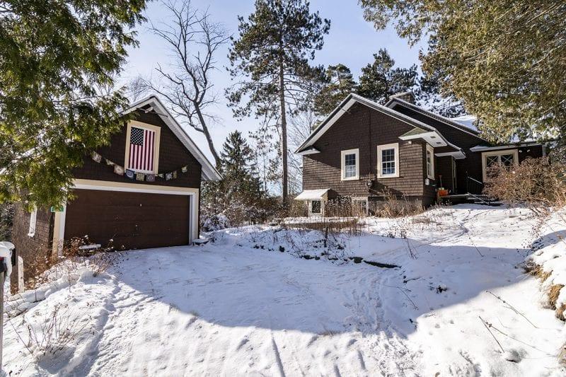 Brown Saranac Lake Cure Cottage With Garage