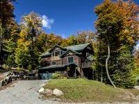 Custom Adirondack Home During The Fall