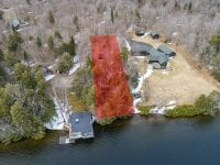 Highlighted Land On Point Of View Way With Waterfrontage