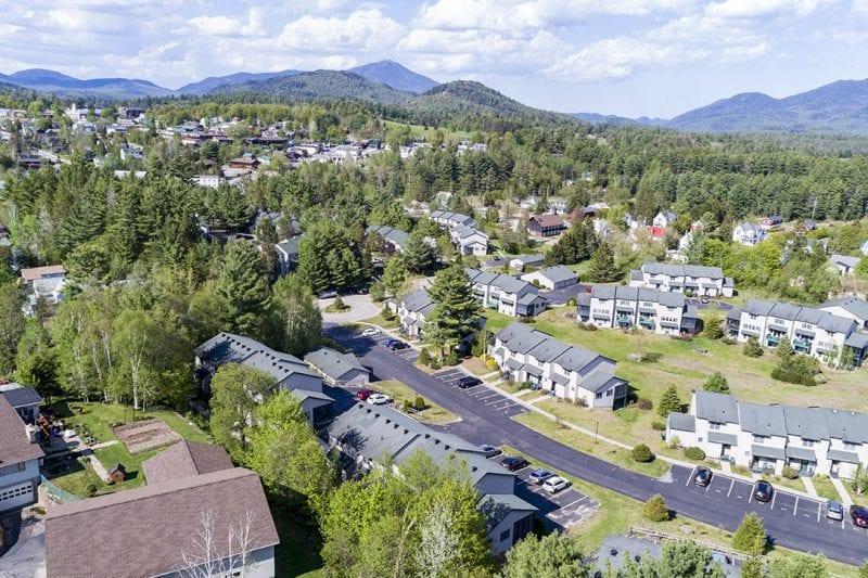Aerial Of Pinehill Units