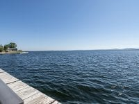 View Of The Docks & Lake Champlain