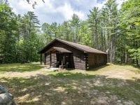 Adirondack Log Home Exterior