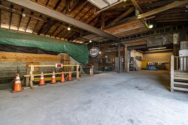 Storage Area Inside Main Marina Building