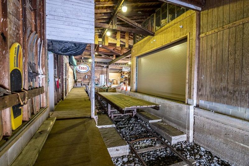 Rail Way In Main Marina
