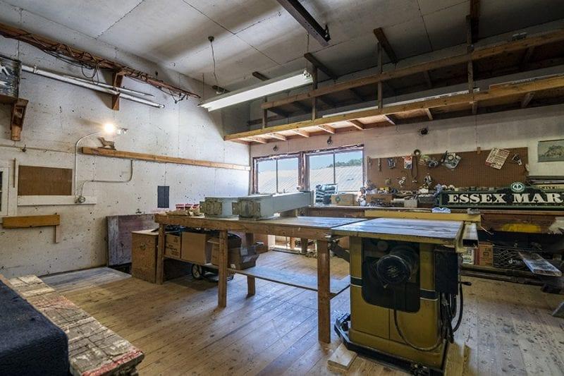 Storage Area Above Repair Shop