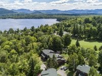 Aerial Of Unit With Golf Course & Lake Placid