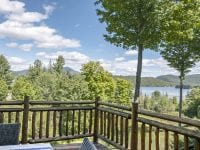 View Of Lake Placid From The Deck