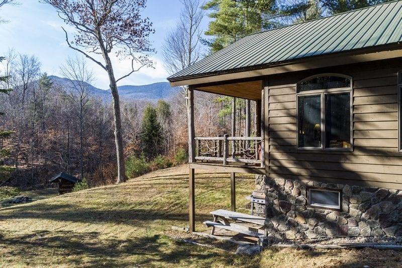 Exterior - Covered Porch Mountain Views