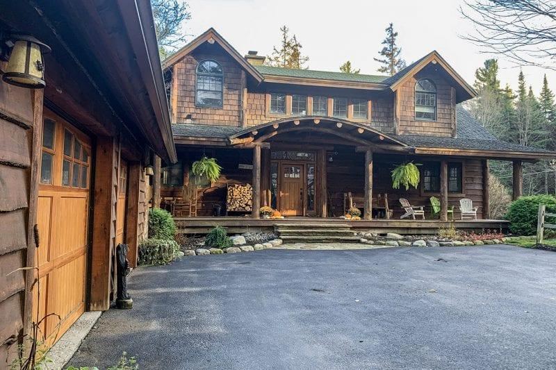 Adirondack Style Home Exterior