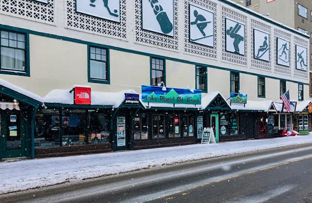 Exterior Of LP Ski & Board