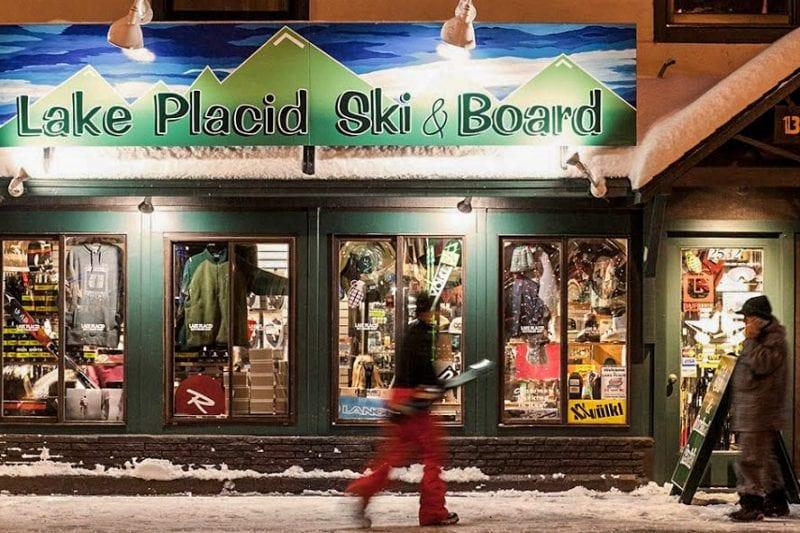 Zoomed In Exterior Of LP Ski & Board