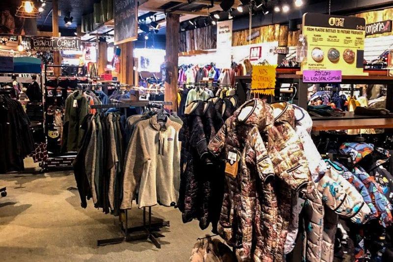 Interior OF Shop - Coats