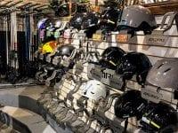 Interior Of Shop - Helmets
