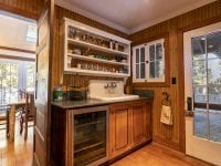 Wet Bar With Sink And Wine Cooler
