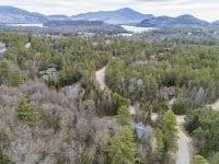 Aerial Of Property Looking Back Toward Lake Placid